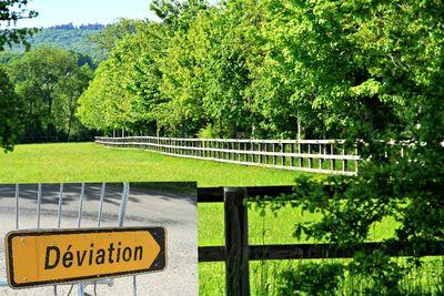 Deviation=detour