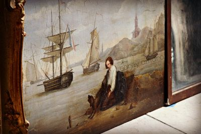 French painting at sea