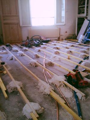 floorboards Paris apartment renovation