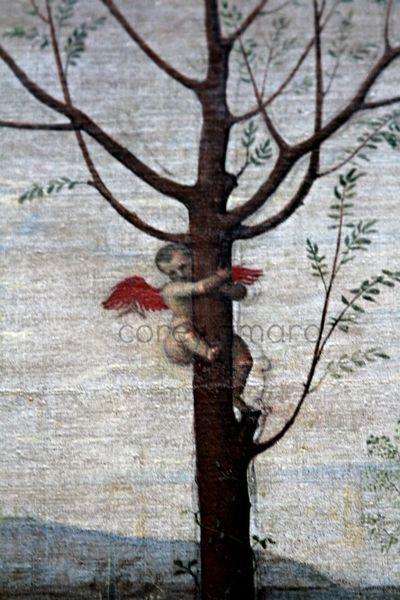 An angel in a tree louvre
