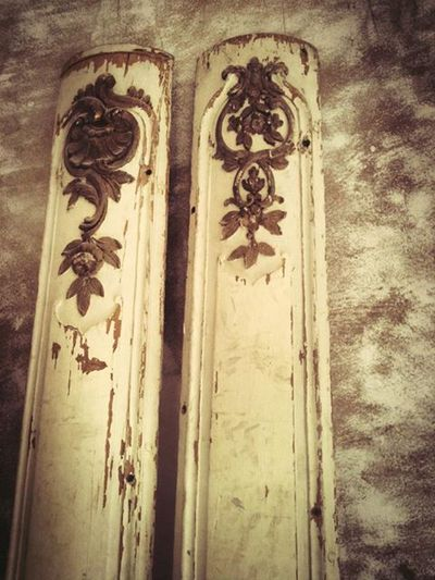 French antique panels