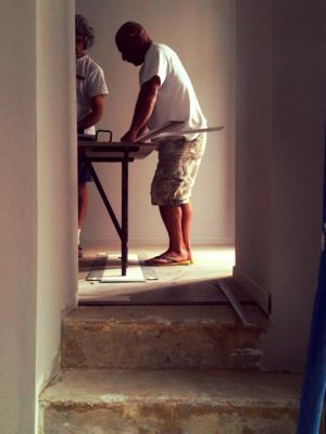renovating paris apartment