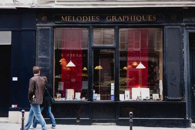 Mélodies Graphiques 10 Rue du Pont Louis-Philippe, 75004 Paris  01 42 74 57 68