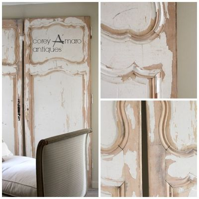 French antique Doors, Corey Amaro antiques