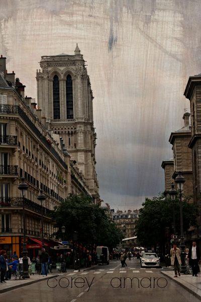 City sounds, paris
