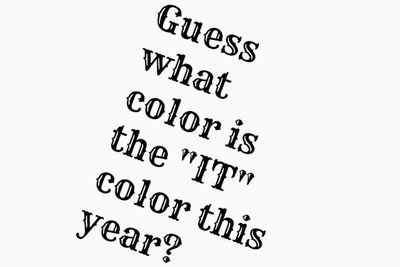It color this year