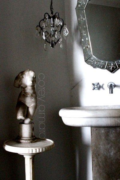 Bathroom Paris apartment corey amaro