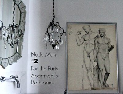 Nude men for the bathroom 2