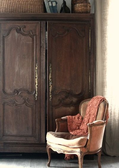 Paris apartment armoire