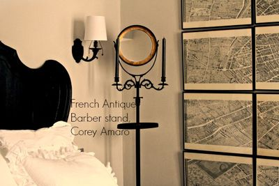 Corey amaro paris apartment barber stand