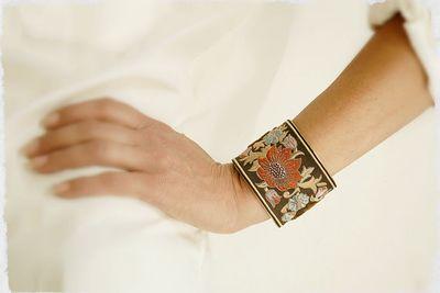 Rubanesque bracelet