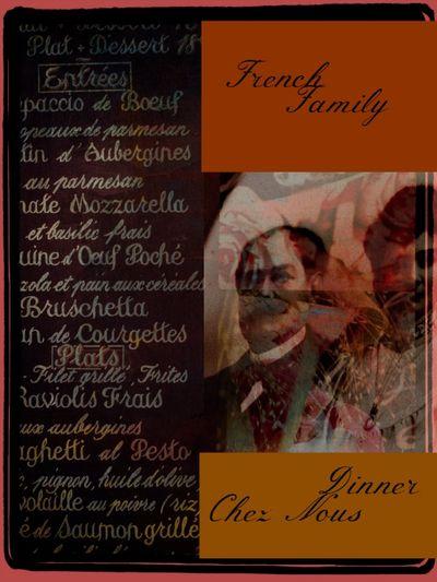 French family dinner chez nous