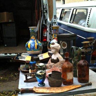 Brocante every sunday in France
