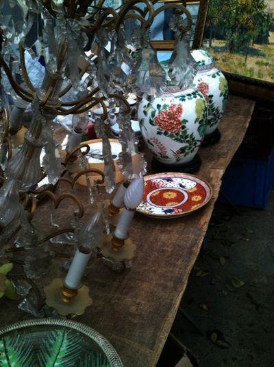 French brocante in France