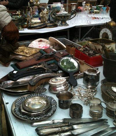 French flea market every sunday
