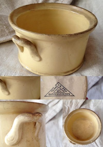 Fois gras pottery French