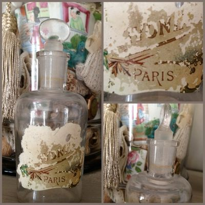 Paris perfume bottle