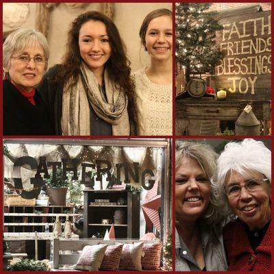 Gathering faith family and love