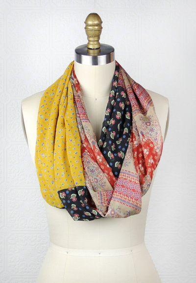 Black llama studio scarf