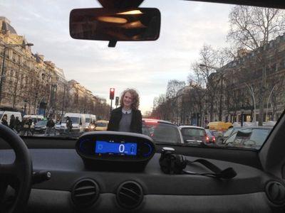 Champs-Elysees avenue in Paris