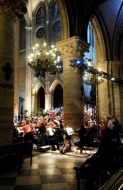 Berlioz Requiem at Notre Dame Philharmonique de Radio France