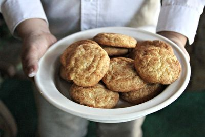 Home made snickerdoodles