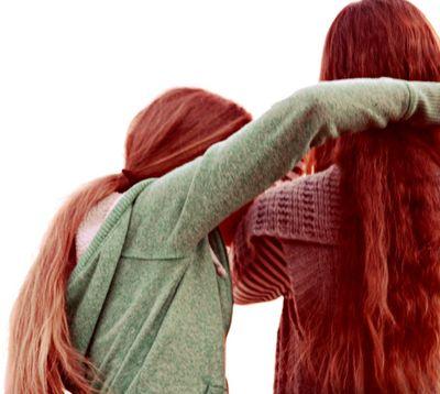 Long hair cousins