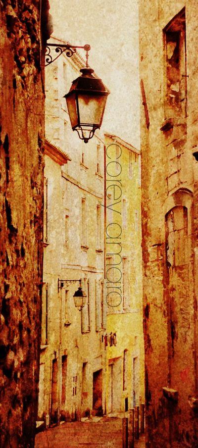 Arles side streets