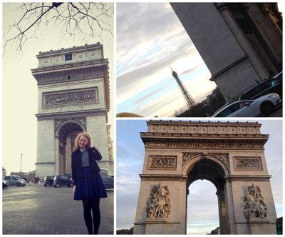 Around and around the arch