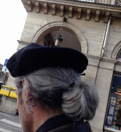 French man with a black beret