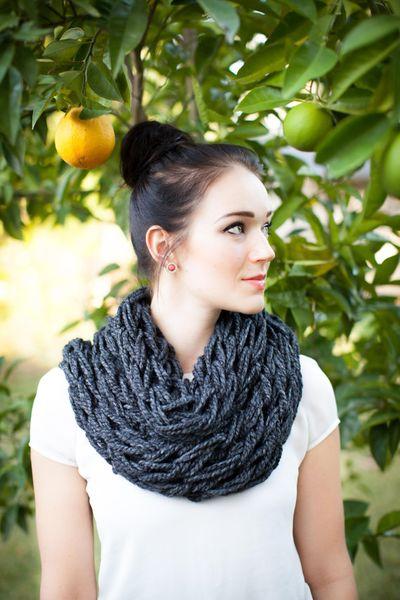 Kompassionknit scarf hand made
