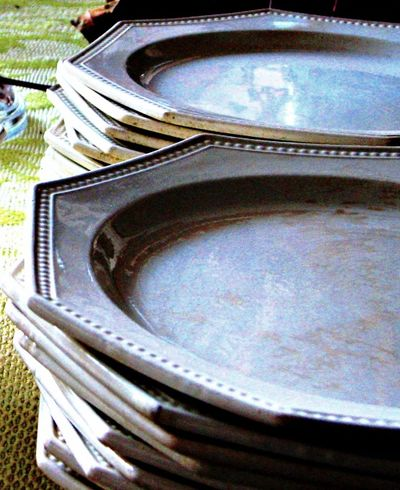 Dishes 18th century Creil