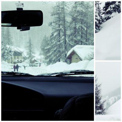 Snow covered vars