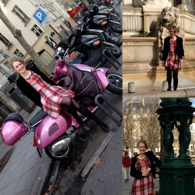 Mad dash in paris