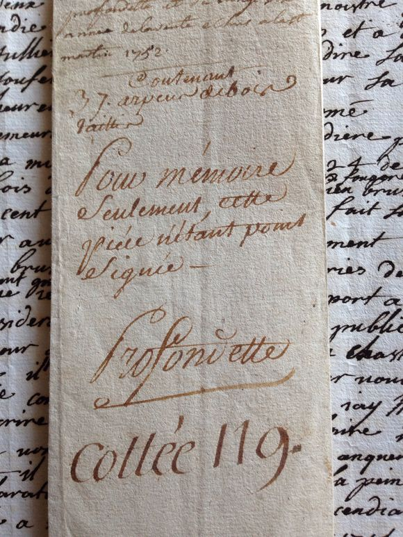 1752 French Document