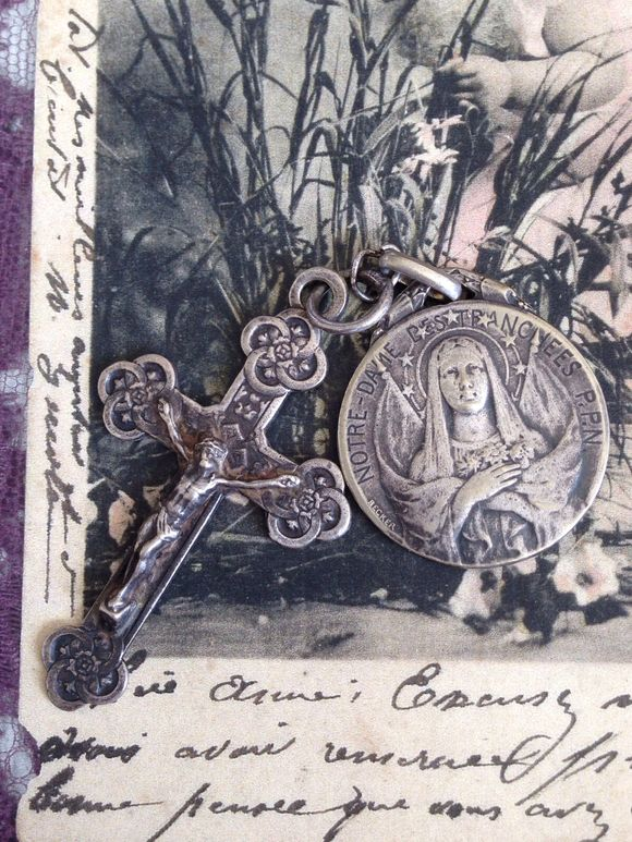 Notre Dame Medal with Cross
