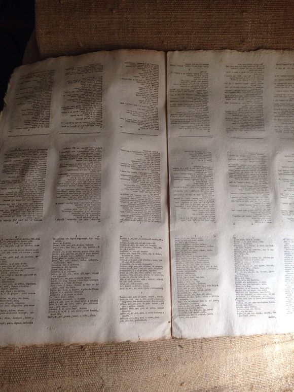 1700 uncut Book Pages