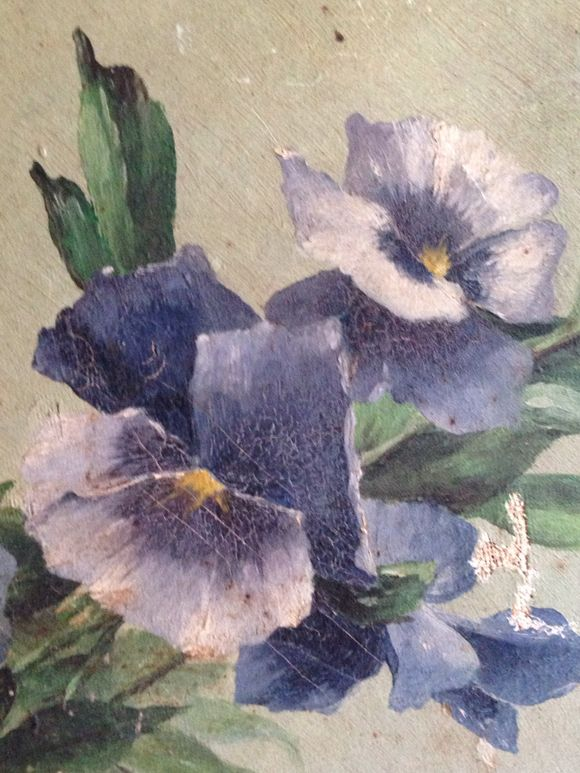 1900s Floral Painting