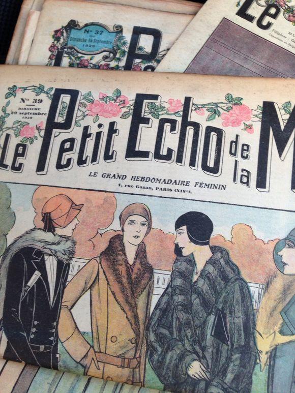 Le Petit Echo de Mode 1929