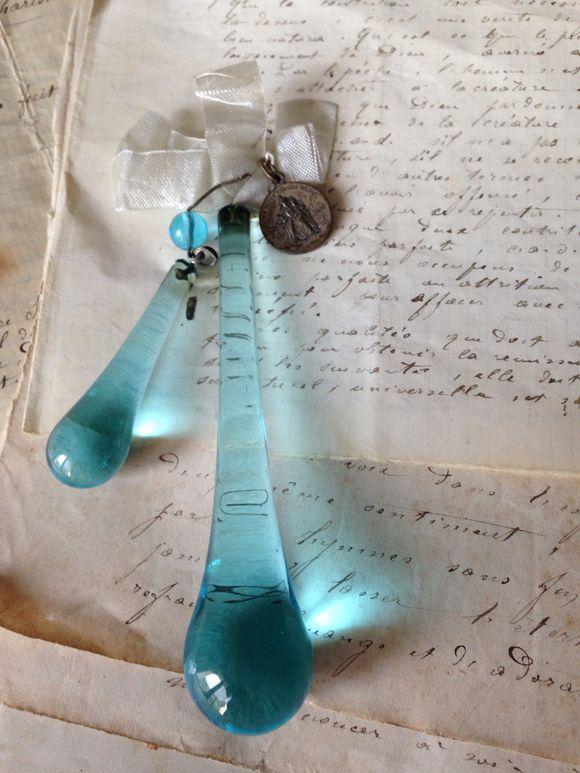 Blue Drop Crystals