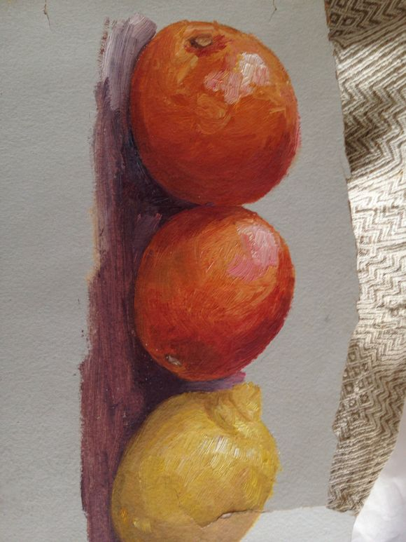 Two Study Paintings