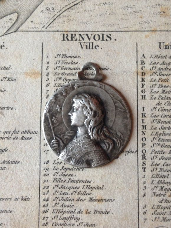 Saint Joan of Arc Medal