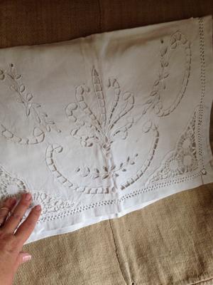 1900s French Pajama Bag
