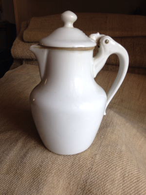 French Limoges Chocolate Pot
