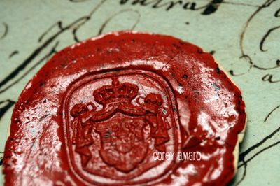 Corey amaro wax seal antique