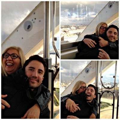 Paris Ferris wheel fun loving