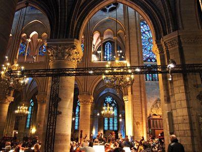 Gustavo dudamel concert in Notre dame 2014