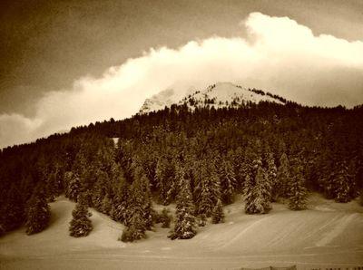 On the mountain,vars France