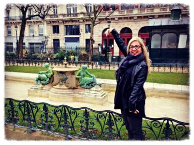 Proposed to in Paris