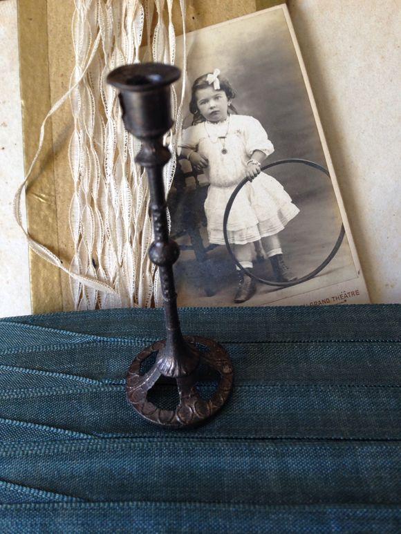 Traveling Altar Candle Holder